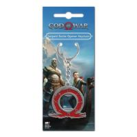 Gaya Entertainment God of War Keychain with Bottle Opener Serpent Logo