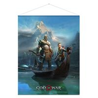 Gaya Entertainment God of War Wallscroll Father and Son