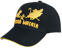 The Lion King Baseball Cap Hakuna Matata Silhouette