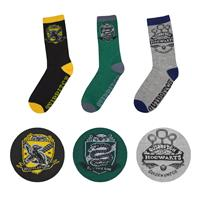 Cinereplicas Harry Potter Socks 3-Pack Quidditch Hogwarts