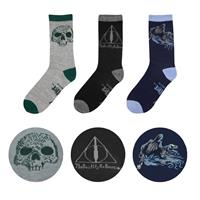 Cinereplicas Harry Potter Socks 3-Pack Deathly Hallows