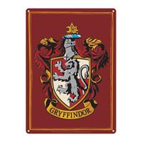Half Moon Bay Harry Potter Tin Sign Gryffindor 21 x 15 cm