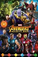 Pyramid International Avengers Infinity War Poster Pack Characters 61 x 91 cm (5)