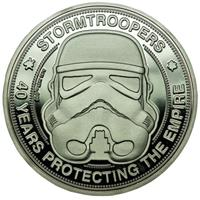 Iron Gut Publishing Original Stormtrooper Collectable Coin 40 Years Protecting The Empire