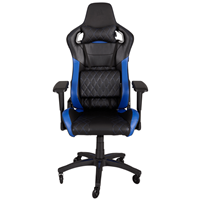 Corsair T1 Race Gaming Chair Zwart/Blauw