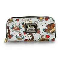 Disney by Loungefly Wallet Belle Tattoo AOP (Beauty and the Beast)