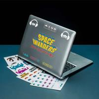 Paladone Products Space Invaders Gadget Decals