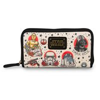 Loungefly Star Wars by  Wallet Tattoo Flash Print