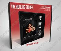 GYE Rolling Stones Hip Flask Set Tongue