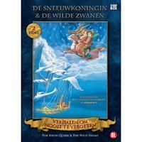 Sneeuwkoningin/De wilde zwanen (DVD)