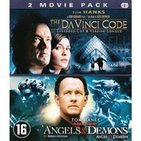 Da Vinci code/Angels & demons (Blu-ray)