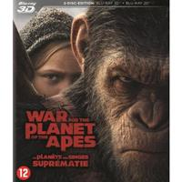War for the planet of the apes (3D) (Blu-ray)
