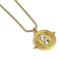 Carat Shop, The Harry Potter Pendant & Necklace Fixed Time Turner (gold plated)