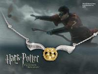 Noble Collection Harry Potter Necklace The Quidditch Golden Snitch