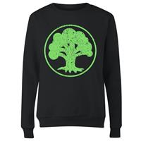 THG Magic the Gathering Ladies Sweatshirt Mana Green Size XL