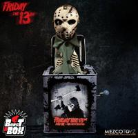 Mezco Toys Friday the 13th Burst-A-Box Music Box Jason Voorhees 36 cm