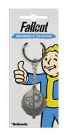 Gaya Entertainment Fallout Metal Keychain Brotherhood of Steel