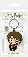 Pyramid International Harry Potter Rubber Keychain Chibi Harry 6 cm