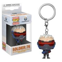 Funko Overwatch Pocket POP! Vinyl Keychain Soldier: 76 4 cm