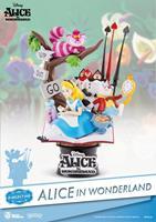 Beast Kingdom Toys Alice in Wonderland D-Select PVC Diorama 15 cm