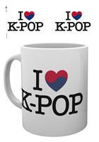 GYE K-Pop Mug Heart K-Pop