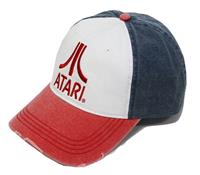 PCM Atari Baseball Cap Red Logo
