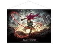 Gaya Entertainment Darksiders III Wallscroll Keyart 100 x 77 cm