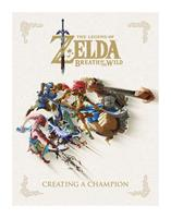 Dark Horse Legend of Zelda Breath of the Wild Art Book Creating A Champion