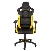 Corsair T1 Race Gaming Chair Zwart/Geel