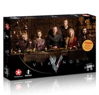 Winning Moves Vikings Jigsaw Puzzle Ragnar's Court