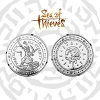 Iron Gut Publishing Sea of Thieves Collectable Coin Pirates For All Eternity Silver Edition