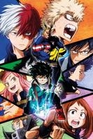 GB eye My Hero Academia Group Poster 61x91,5cm