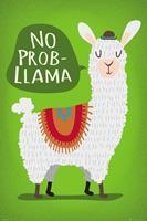 GB eye Llama Poster Pack No Probllama 61 x 91 cm (5)