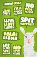 GB eye Llama Poster Pack Quotes 61 x 91 cm (5)