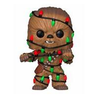 Funko Star Wars POP! Vinyl Bobble-Head Holiday Chewbacca with Lights 9 cm