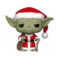 Funko Star Wars POP! Vinyl Bobble-Head Holiday Santa Yoda 9 cm