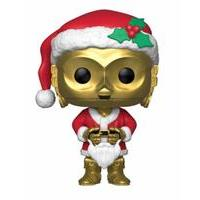 Funko Star Wars POP! Vinyl Bobble-Head Holiday Santa C-3PO 9 cm