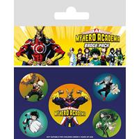 Pyramid International My Hero Academia Pin Badges 5-Pack Characters