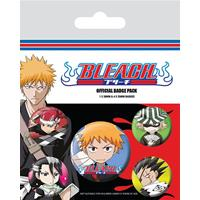 Pyramid International Bleach Pin Badges 5-Pack Chibi Characters