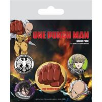 Pyramid International One Punch Man Pin Badges 5-Pack Destructive