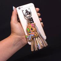 Thumbs Up Tokidoki USB Charging Cable 3in1 with Keychain Glitter Tassel