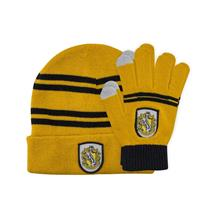 Cinereplicas Harry Potter Beanie & Gloves Set for Kids Hufflepuff