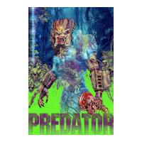 Iron Gut Publishing Predator Fine Art Giclee Print door Christodoulou - Zavvi Exclusive Timed Edition