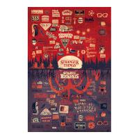 Pyramid International Stranger Things Poster Pack The Upside Down 61 x 91 cm (5)