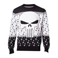 Difuzed Marvel Knitted Christmas Sweater Punisher Size S