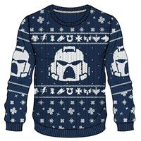 Difuzed Warhammer 40K Knitted Christmas Sweater Space Marines Size M
