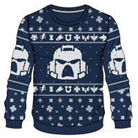 Difuzed Warhammer 40K - Space Marines X-mas Men's Sweater