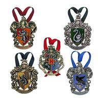 Noble Collection Harry Potter Tree Ornaments Hogwarts 5-Pack
