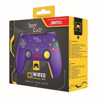 Steelplay - Wired Controller - Purple GCUBE