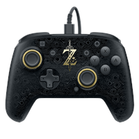 pdp Faceoff Deluxe Wired Pro Controller - Breath of the Wild Edition